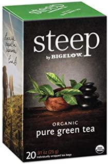 Bigelow Tea Steep Pure Green Organic, 0.91 oz