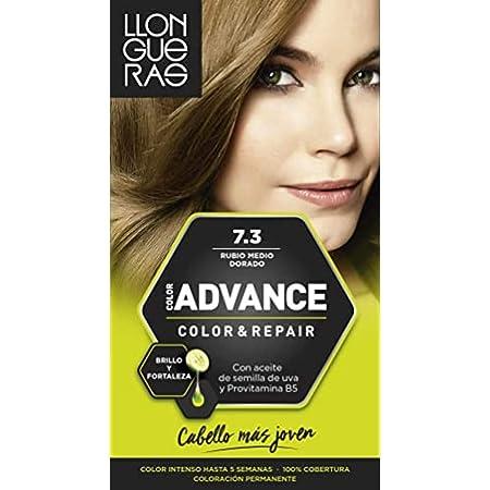 LLONGUERAS Advance tinte Rubio Medio Dorado Nº 7.3 caja 1 ud