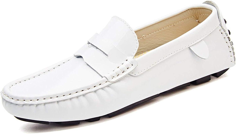 Galna män Lösa skor Split Läther Boat skor Män Män Män Italienska Slip On Loafers Mocasins skor Hombre  generell hög kvalitet