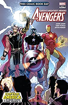 Free Comic Book Day 2018: Avengers/Captain America #1 (English Edition) van [Jason Aaron, Ta-Nehisi Coates, Sara Pichelli, Leinil Francis Yu]