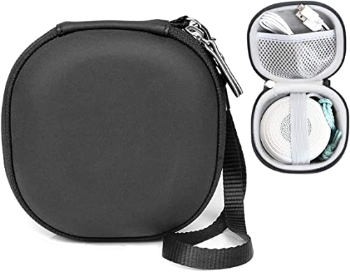 high quality WGear Original Designed Case for Marpac Rohm White Noise Sound Machine, Secure and easty to use Protective Strap for Rohm, Mesh Pocket for Cable, wholesale Compact and Strong case with Detachable 2021 Strap, Black sale
