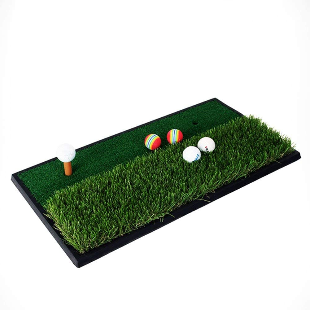Ranking TOP12 AUKLM Indianapolis Mall Putting mat Golf Practice Double Mat Area Per