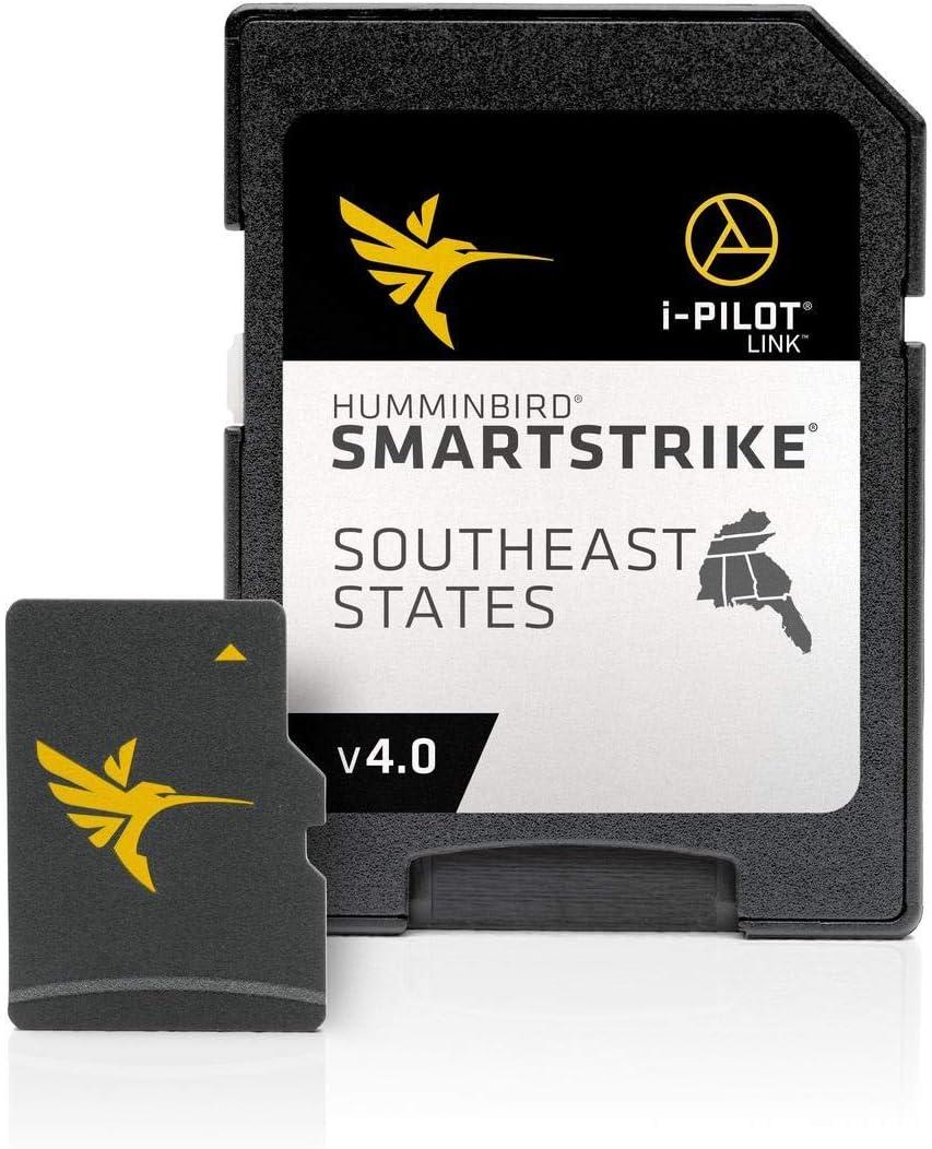 Humminbird 600023-7 LakeMaster Southeast States PLUS V3 Digital GPS Maps Micro Card