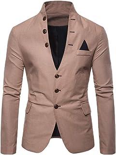 Mensera Herren Anzug-Jacke Sakko Modern Revers Blazer Jacke Mantel f/ür Hochzeit und Party Business Formelle Anl/ässe Slim Fit