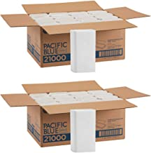 Pacific Blue Select IUYEHDUH Multifold Premium 2-Ply Paper Towels (Previously Signature) by GP PRO, White, 21000, 125 Paper Towels Per Pack, 16 Packs Per Case 2 Case