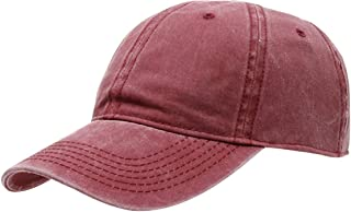 Jueshanzj Women's Denim Baseball Cap with Adjustable Buckle