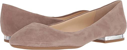 Warm Taupe Lux Suede