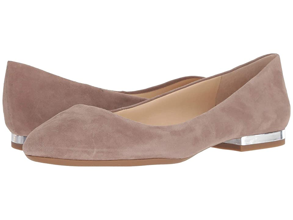 Jessica Simpson Ginly (Warm Taupe Lux Kid Suede) Women