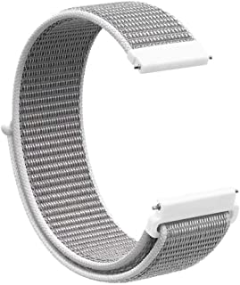 Tomepeia Nylon Replacement Strap Loop for Samsung Galaxy Watch 42mm Mesh Soft Sports Watch Band