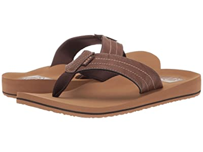 Reef Twinpin Lux (Tan) Men