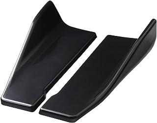 Aishun Dtouch Protetores de cantos inferiores para para-choque traseiro (6035#preto)