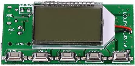 Yosooo FM Radio Transmitter Module,DSP & PLL Digital Wireless Microphone Stereo Suitable for FM Radio Wireless Microphone Computer Audio Emission