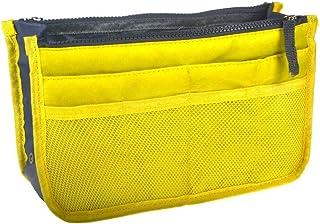 Ducomi Organizer Borsa Donna 13 Tasche Capiente Organizzatore Viaggio Borse Espandibile Doppio Manico Porta Accessori Cosm...