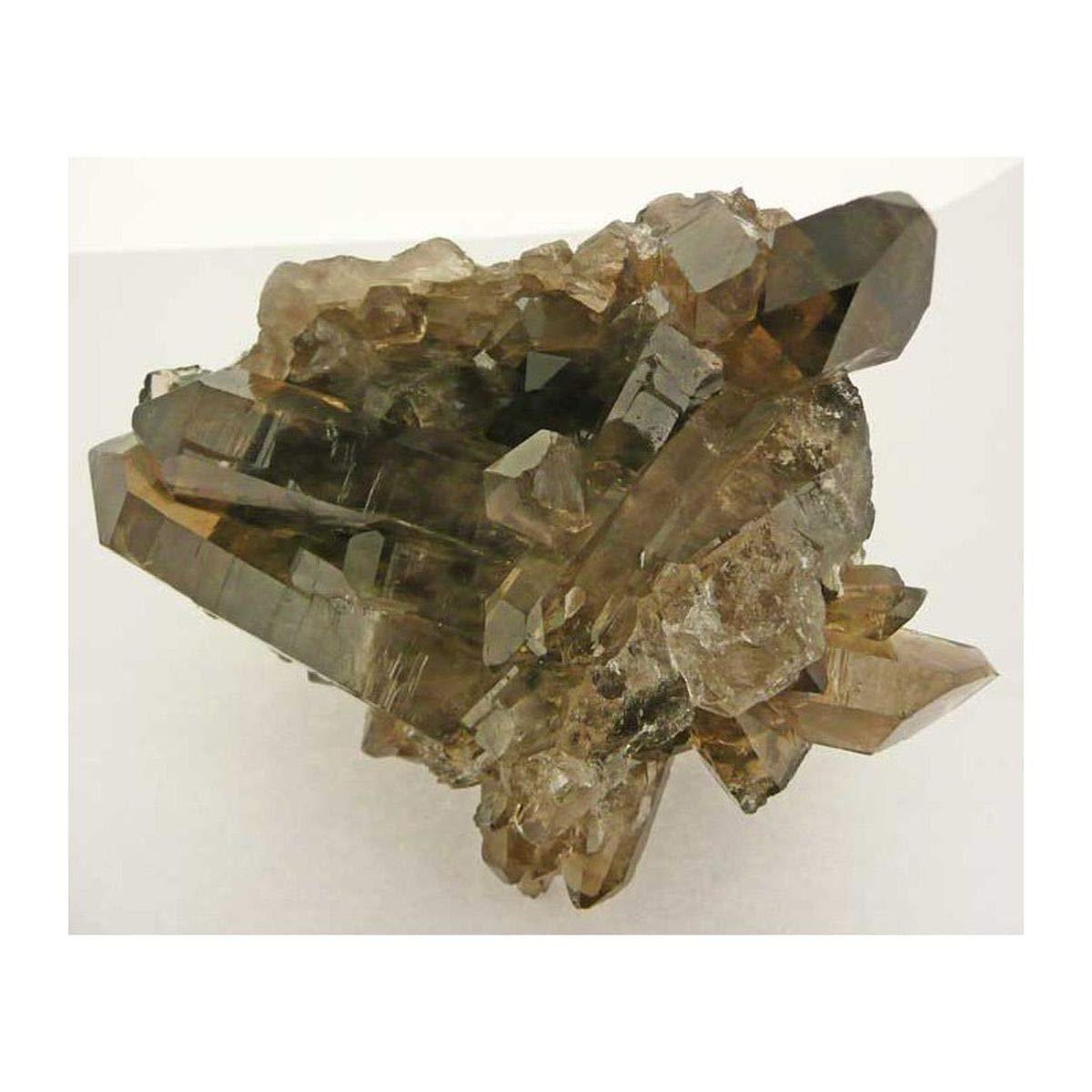 Drusa Cuarzo Ahumado en Bruto (El Precio es por 0.5Kg) Minerales y Cristales, Belleza energética, Meditacion, Amuletos Espirituales: Amazon.es: Hogar