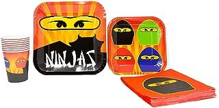 ninja birthday party printables
