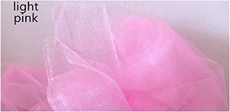 DIY ambacht, TULLE ROLL 5 / 10M 48 CM Sheer Crystal Organza Stof voor Bruiloft Decoratie Organza Stoel Sjeres Baby Shower ...