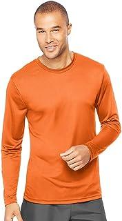 Hanes Mens Cool DRI Performance Long-Sleeve T-Shirt