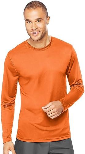 Hanes Cool Dri Perforhommece T-Shirt à Manches Longues pour Homme