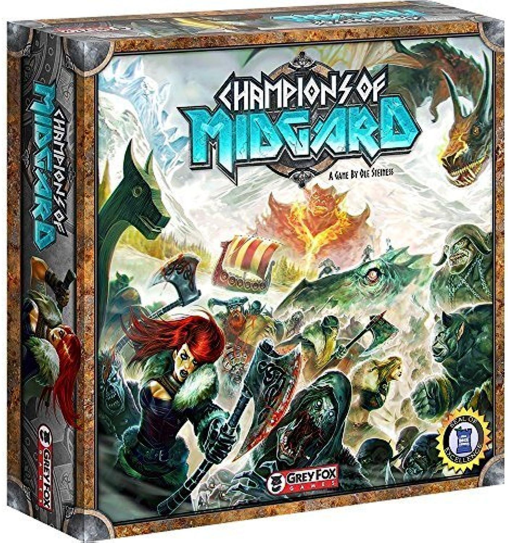 grau Fox Games Champions of Midgard by