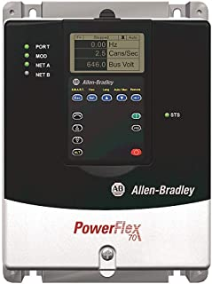 Allen Bradley 20AC8P7A0AYNNNC0 A, 20AC8P7A0AYNNNC0 SER.A, PowerFlex 70 Safety Products, PowerFlex 70 AC Drive 8.7 A at 4 kW 20A