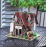 Birdhouses: Nappa Valley Cottage Winery Bird House w/Cleanout Hole New