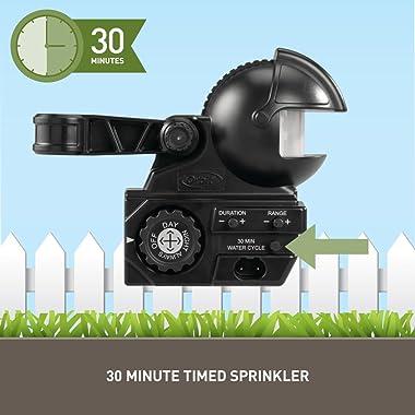 Orbit 62100 Yard Enforcer Motion-Activated Sprinkler with Day & Night Detection Modes,Black