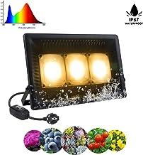 LED Horticole 150W, Relassy Lampe de Culture COB LED Lampe de Plante Spectre Complet, Lampe de Croissance Étanche IP67 Lampe Horticole pour Plantes Floraison Veg Semis Intérieur Extérieur