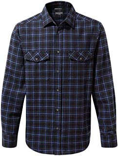 Craghoppers Mens Kiwi Checked Long Sleeve Casual Shirt