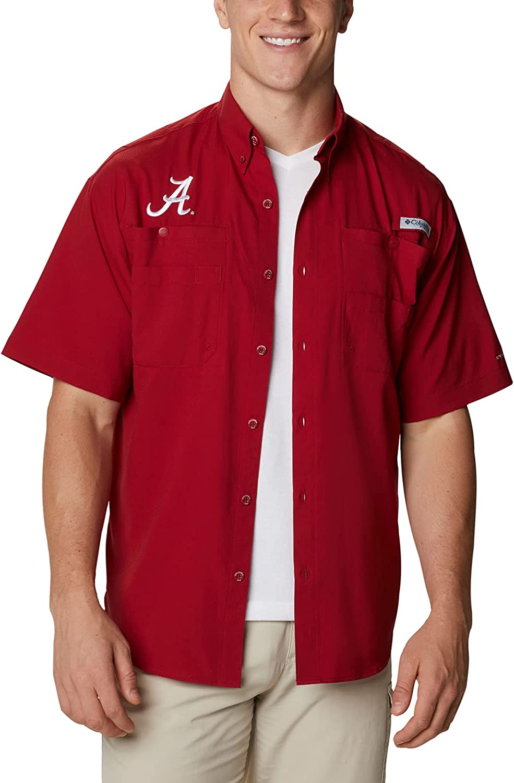 Columbia Men's Tamiami Seattle Mall Sleeve Short Sale item Shirt