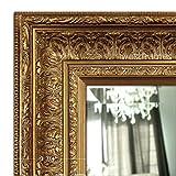 West Frames Elegance Ornate Embossed Wood Framed Wall Mirror (31' x 43', Antique Gold)