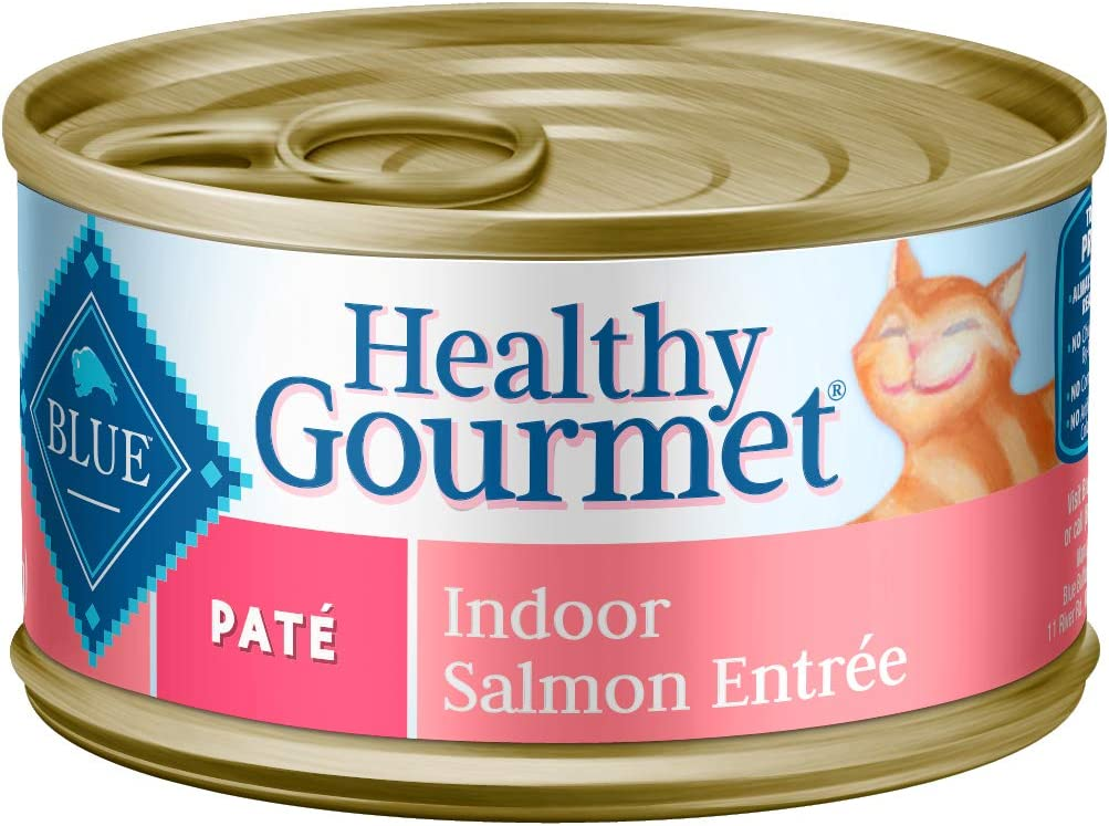 Blue Buffalo Healthy 67% OFF of fixed price Gourmet Natural Cat Adult Las Vegas Mall Pate Wet Food