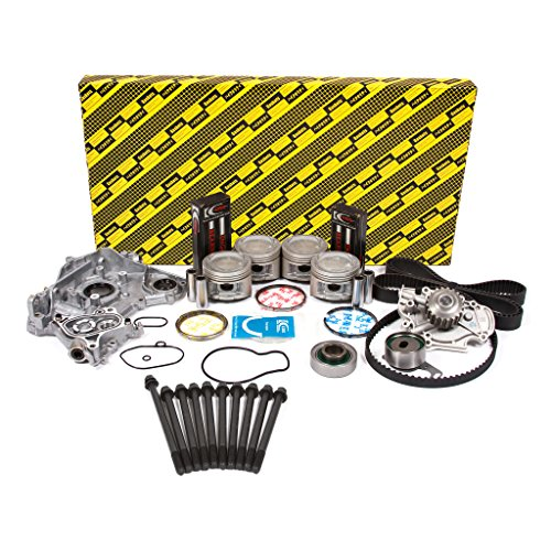 Evergreen OK4012LM/0/0/0 Fits 91-96 Honda Prelude 2.2L SOHC 16V F22A1 Master Overhaul Engine Rebuild Kit