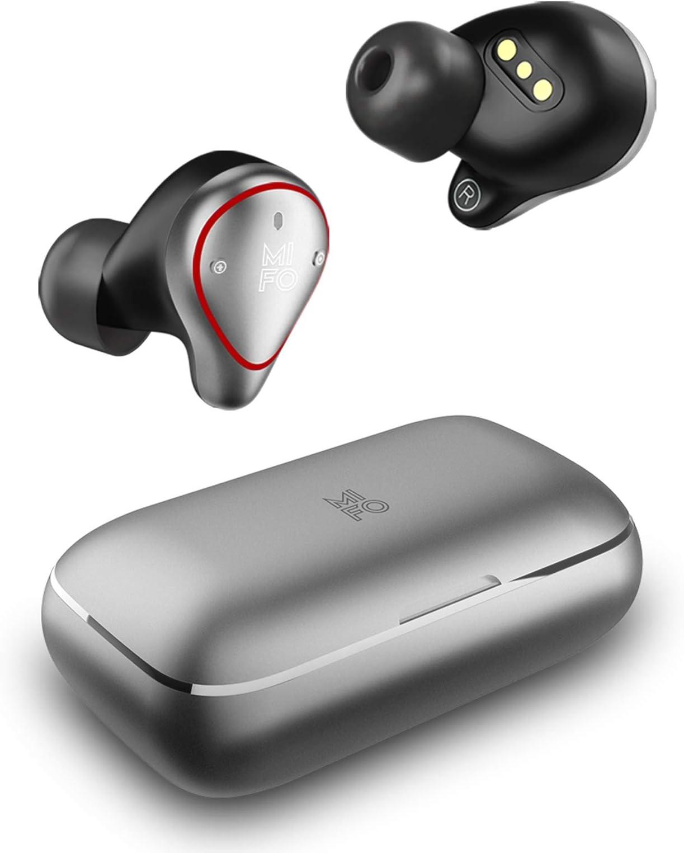 2021 Upgraded Version Mifo O5 Plus Gen 2 True Wireless Earbuds TWS Bluetooth 5.0 Sport Wireless Headphones Hi-Fi Stereo Sound IPX7 Waterproof Wireless Earbuds with 2600mAh Charging Case as Power Bank