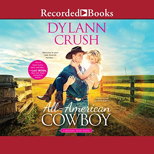 All-American Cowboy audiobook cover art