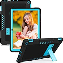 Sponsored Ad - FIEWESEY for Fire HD 10 Case,Heavy-Duty Drop-Proof Shock-Resistant Rugged Protective case(with Stand) for A...
