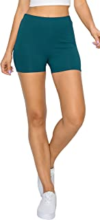 """YourStyle USA Women's Biker Shorts - High Waist 3"""" Yoga Athletic Active Stretch Workout Running Gym Sports Pants Tights"""