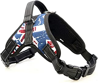 BOOB Nylon Dog Harness Collar Adjustable Pet Harness Extra Big Large Medium Small Reflective Dog Harnesses Dog Vest Pet Supplies