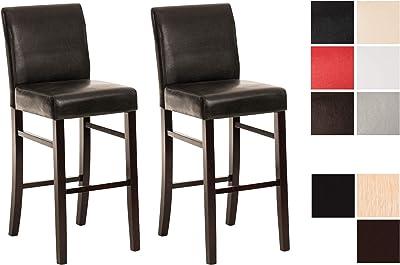 Vidaxl 2x legno massello acacia sedie da bar sgabelli alti seggiole