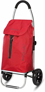 PlayMarket Go Two Compact Utility Cart, Red