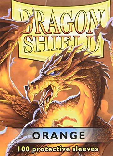 Dragon Shield AT-10013 Protective Card Sleeves (100 Count), Orange