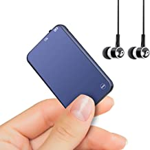 64GB Mini Voice Recorder, Vormooi Voice Activated Audio Recorder with 750 Hours Recording Capacity and 50 Hours Long Battr...