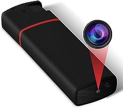 GXSLKWL Mini Spy Camera Hidden Camera Nanny Cam Covert Portable Tiny HD 1080P Security Surveillance Camera with Night Visi...