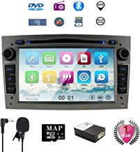 7 pulgadas Reproductor de DVD y DVD para auto Navi GPS para Opel Corsa Zafira Antara Astra Soporte GPS Audio Video Bluetooth USB SD SWC 3G WIFI FM AM RDS (Gris)