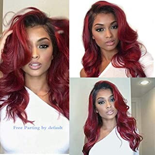 Best burgundy 360 lace wig Reviews