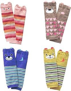 JIEEN Baby Boys Girls Leg Warmer Animal Sweet Soft Lace Knee Socks Cotton Unisex Tight Stocking