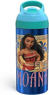 Moana Zak Designs 19oz Stainless Steel Water Bottle Blue/Green
