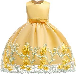 Niñas Vestido Bebé Princesa Sin Mangas Ropa de Fiesta Formal Disfraz