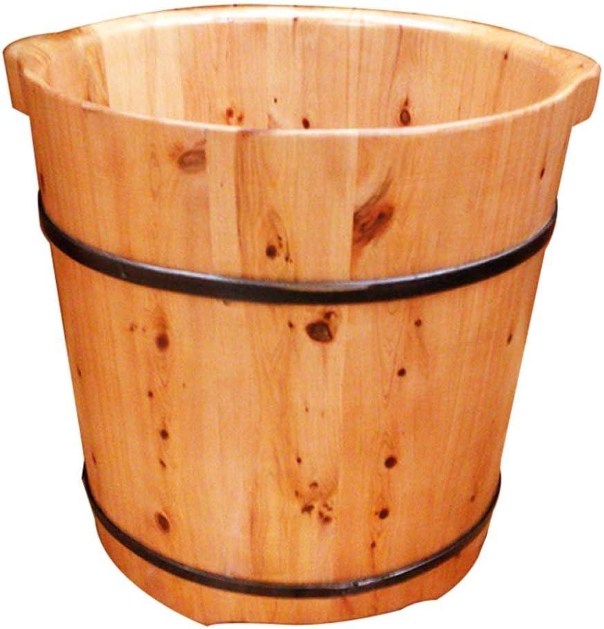 Max 57% OFF XingKunBMshop Wooden Barrels Pedicure Basin Foot Barre 37cm Bath Large special price