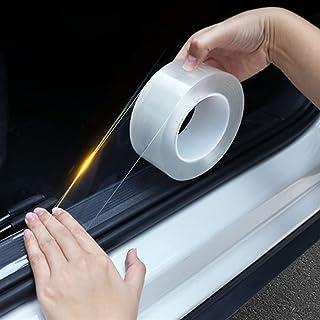 new 3m Car Stickers Auto Interior Protector Film Door Edge Protective Glue Trunk Door Sill Car Body Vinyl Accessories (Siz...