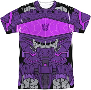 Transformers Shockwave Costume Unisex Adult Front Only Sublimated T Shirt for Men and Women